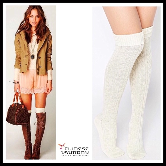 019e70d3926 LUXE TALL OVER THE KNEE TALL BOOT SOCKS A2C. Boutique. Chinese Laundry